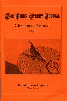 BSJ 1999 Christmas Annual cover