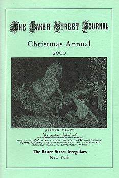 BSJ 2000 Christmas Annual cover