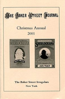 The BSJ 2001 Christmas Annual cover