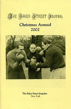 The BSJ 2002 Christmas Annual cover