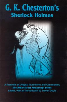 G.K. Chesterton's Sherlock Holmes cover