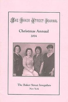 The BSJ 2004 Christmas Annual cover