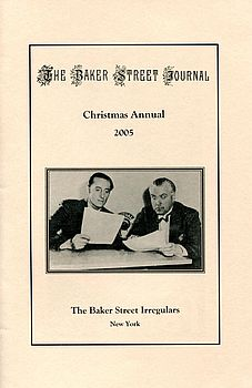 The BSJ 2005 Christmas Annual cover