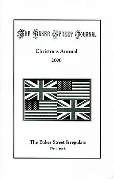 The BSJ 2006 Christmas Annual cover