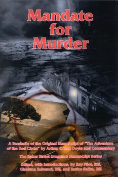 "Mandate for Murder (""The Red Circle"" manuscript) cover"