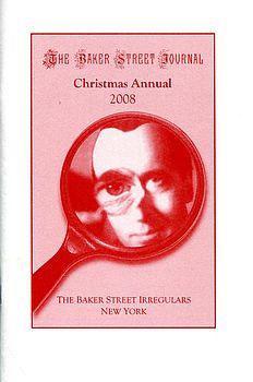 The BSJ 2008 Christmas Annual cover