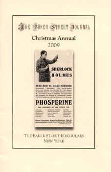 The BSJ 2009 Christmas Annual cover