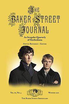 The Winter 2011 BSJ cover