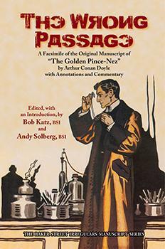 "The Wrong Passage (""The Golden Pince-Nez"" manuscript) cover"