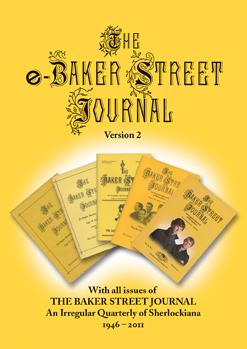 The e-Baker Street Journal v2 (eBSJ) cover