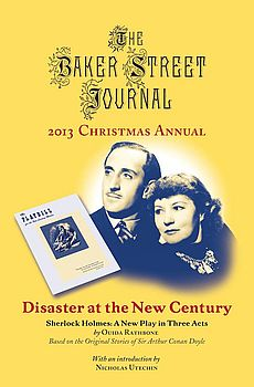 The BSJ 2013 Christmas Annual cover