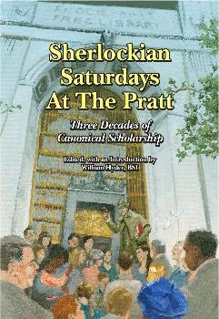 Sherlockian Saturdays at the Pratt cover