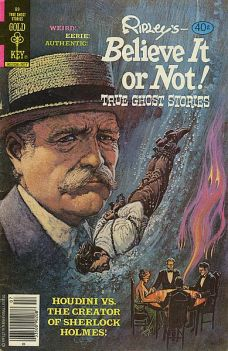 Ripley's Believe It or Not cover: Houdini vs. Conan Doyle