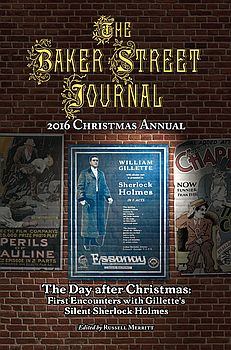 The BSJ 2016 Christmas Annual cover