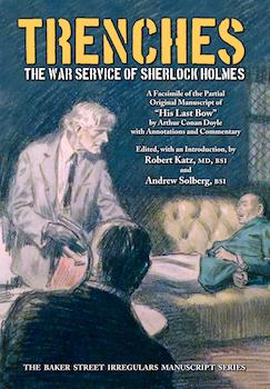 Trenches ('His Last Bow') dustjacket cover