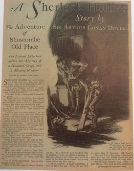 Steele: Title illustration Shoscombe Old Place