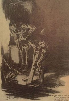 Steele: Title illustration detail (Shoscombe Old Place)