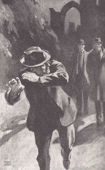 Wiles: Man running from crypt (Shoscombe Old Place)