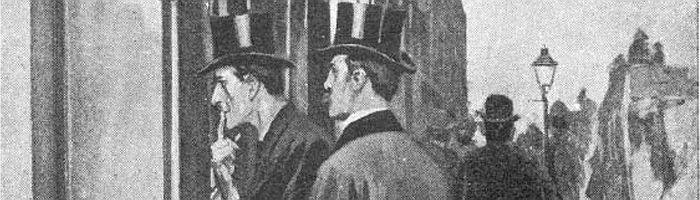 Holmes & Watson in Charles Augustus Milverton
