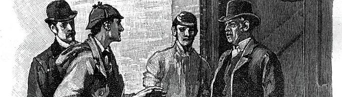 Holmes & Watson in Silver Blaze