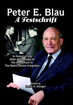 Peter E. Blau: A Festschrift cover