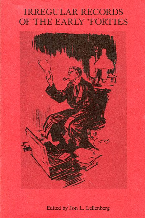 Irregular Records of the Early Forties book cover
