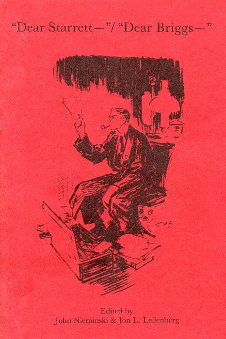 """""""Dear Starrett – """" / """"Dear Briggs – """" book cover"""