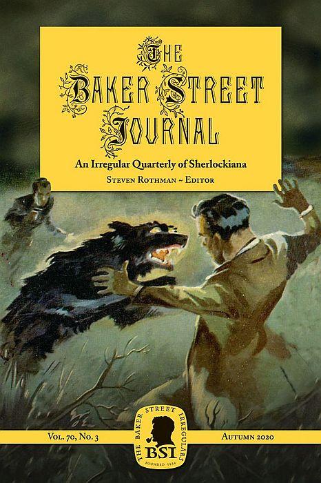The Autumn 2020 BSJ cover