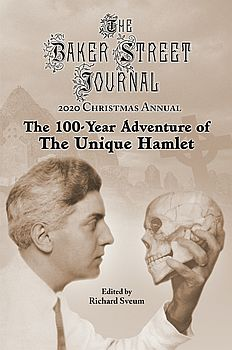 The BSJ 2020 Christmas Annual cover