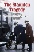 The Staunton Tragedy dustjacket cover