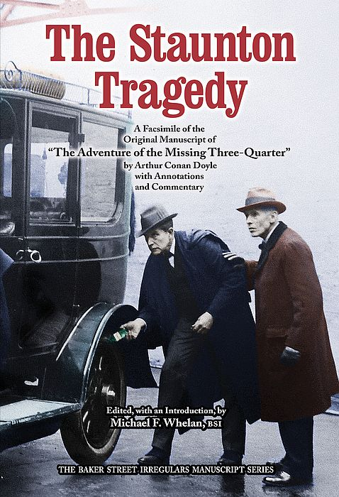 The Staunton Tragedy (Missing Three-Quarter)  dustjacket cover