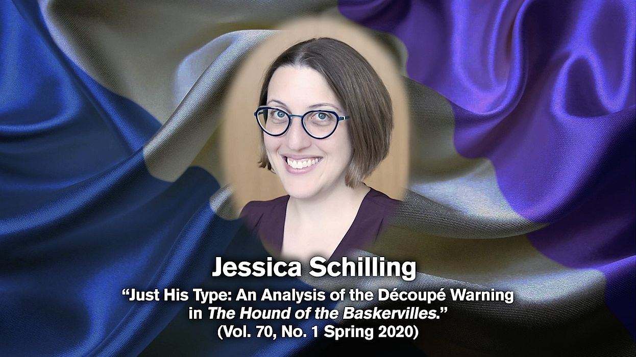 Jessica Schilling receives the 2020 Morley-Montgomery Award